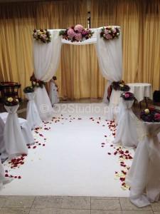 Хупа для национальной еврейской свадебной церемонии