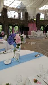 Оформление свадебного торжества цветами. Стоимость: от 70.000р