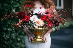 Цветочная композиция в стиле Бохо