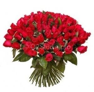 Букет из 101 розы Стоимость: 3600р