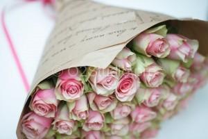 Розы 30шт  Упаковка крафт. Стоимость: 1200р