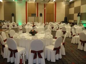 Оформление торжественного мероприятия в Свисс отеле Красные Холмы.