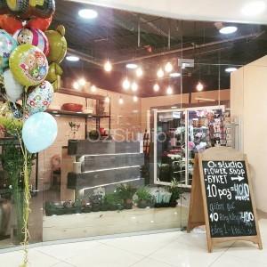 Цветочный салон O2studio - так выглядит наш новый цветочный оазис. В ТЦ Ханой-Москва этаж -1